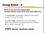 using email 4