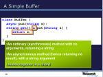 a simple buffer18