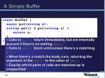 a simple buffer19