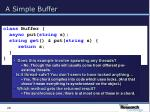 a simple buffer20