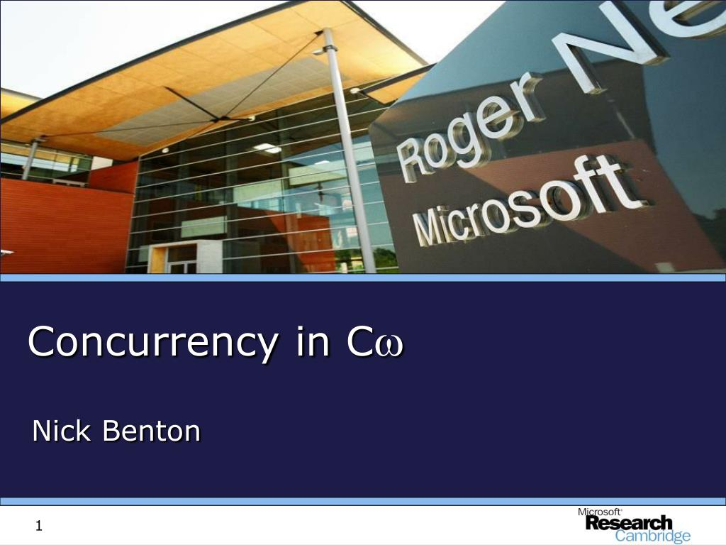concurrency in c l.