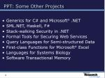 ppt some other projects