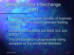 electronic data interchange edi