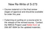 new re write of s 27322