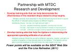 partnership with mtdc research and development53