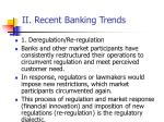 ii recent banking trends24