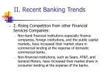 ii recent banking trends28
