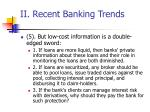 ii recent banking trends43