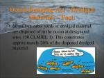 ocean dumping act dredged materials fact