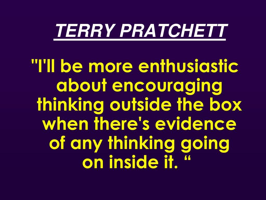 TERRY PRATCHETT