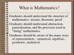 what is mathematics3