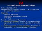 cia communication inter auriculaire