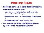 metasearch results