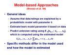 model based approaches breese et al 98