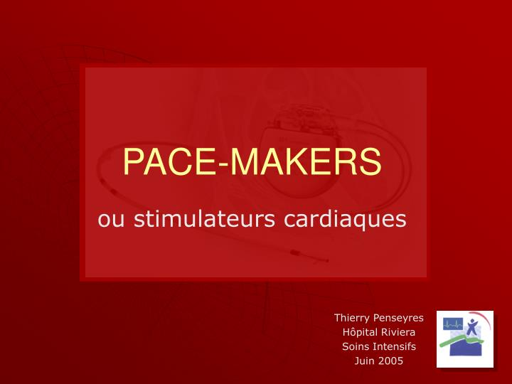 pace makers n.
