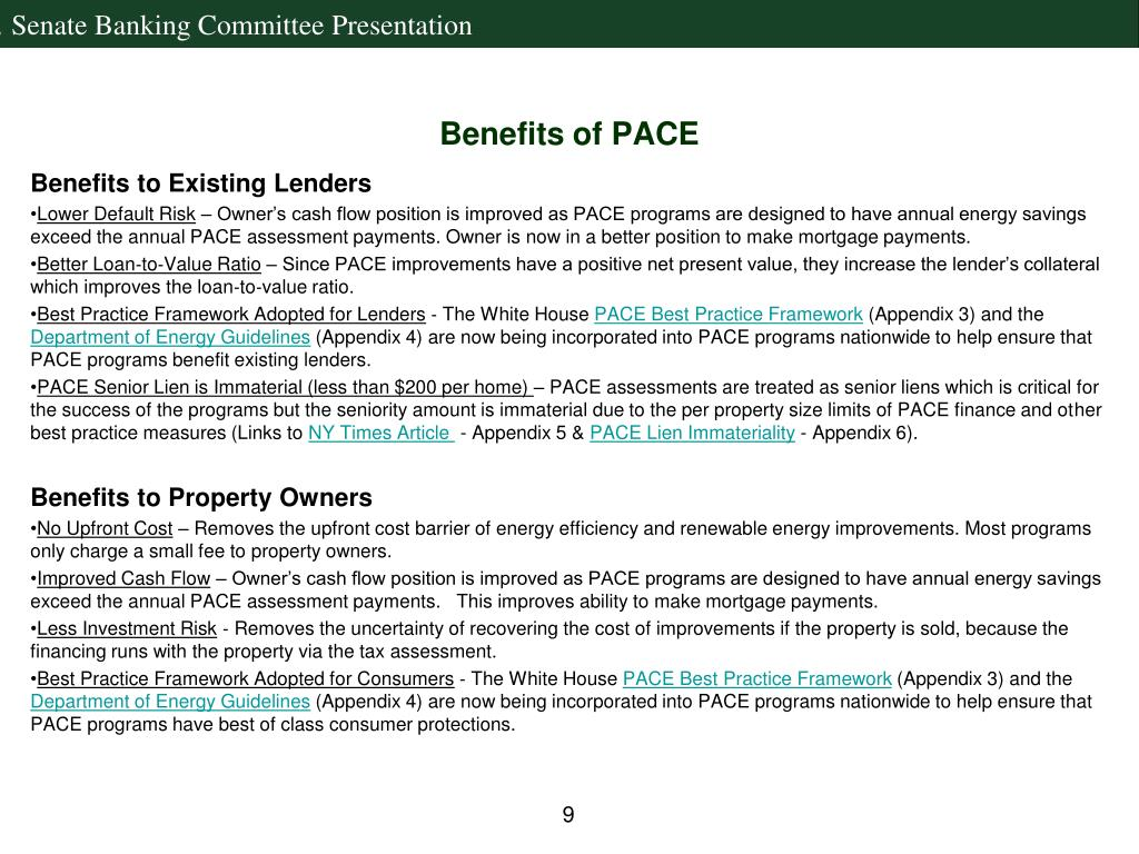 Benefits of PACE