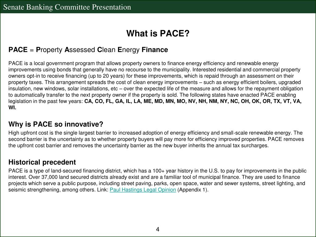 What is PACE?