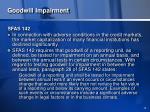 goodwill impairment14