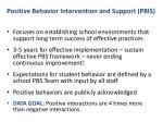 positive behavior intervention and support pbis7