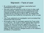 majrowski facts of case