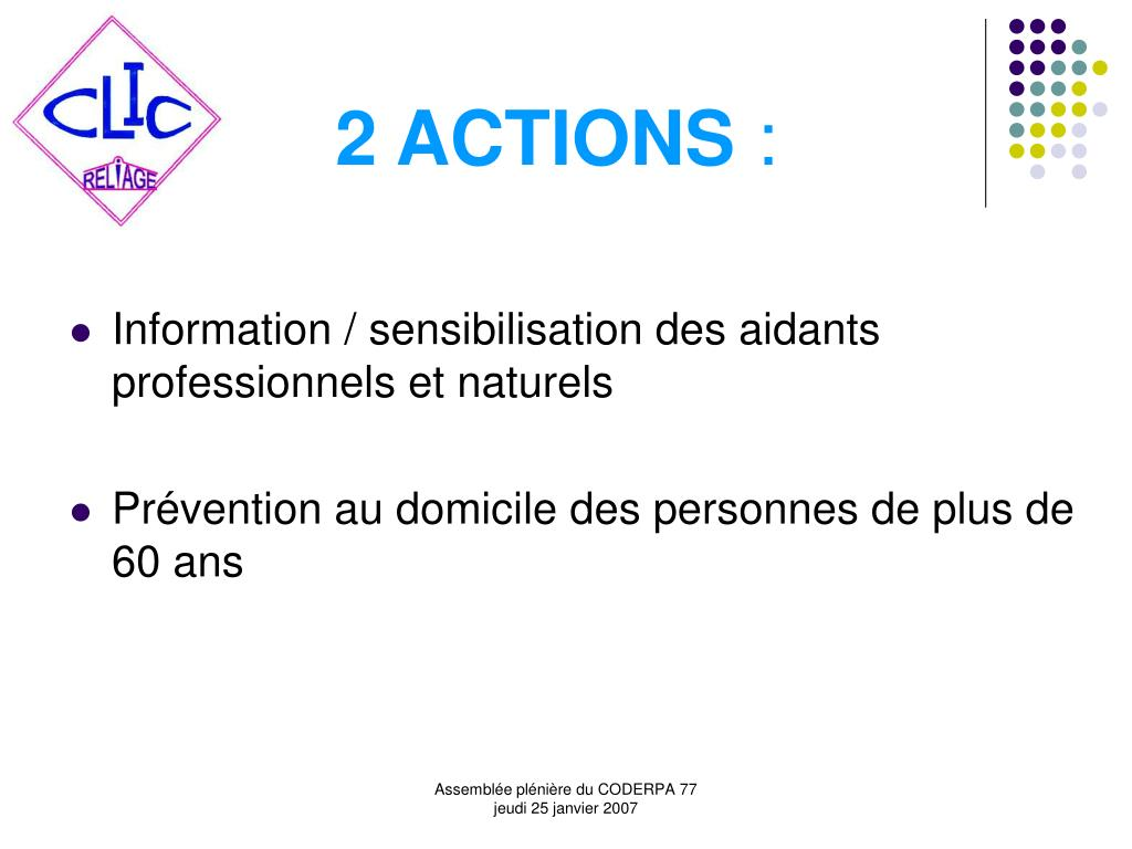 2 ACTIONS