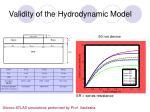 validity of the hydrodynamic model
