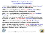 odp methane hydrate research accomplishments 1991 2003