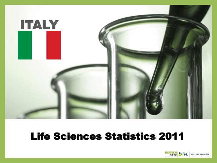 life sciences statistics 2011 n.