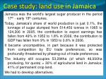case study land use in jamaica