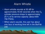 alarm whistle