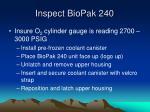 inspect biopak 24015