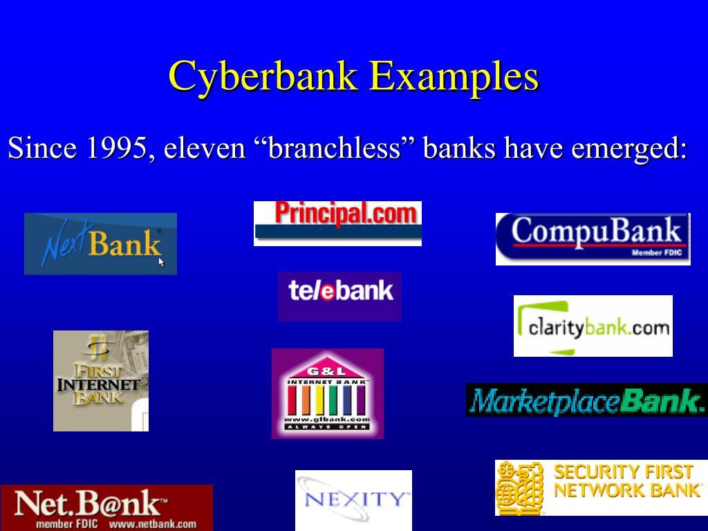 Cyberbank Examples