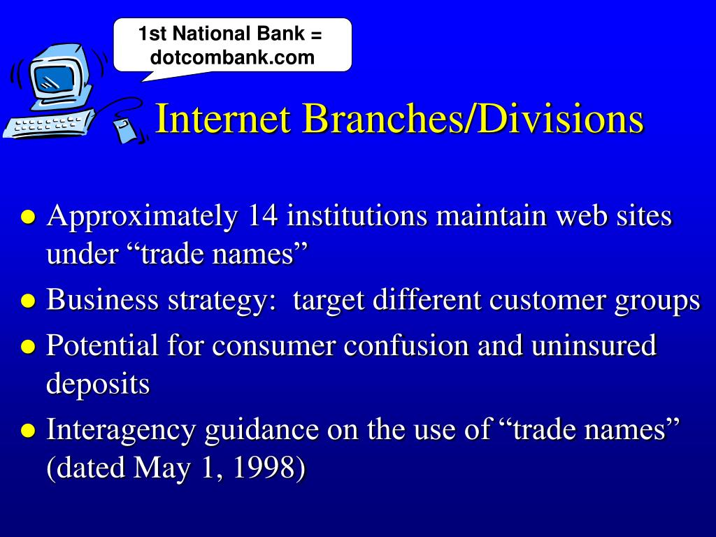 1st National Bank =