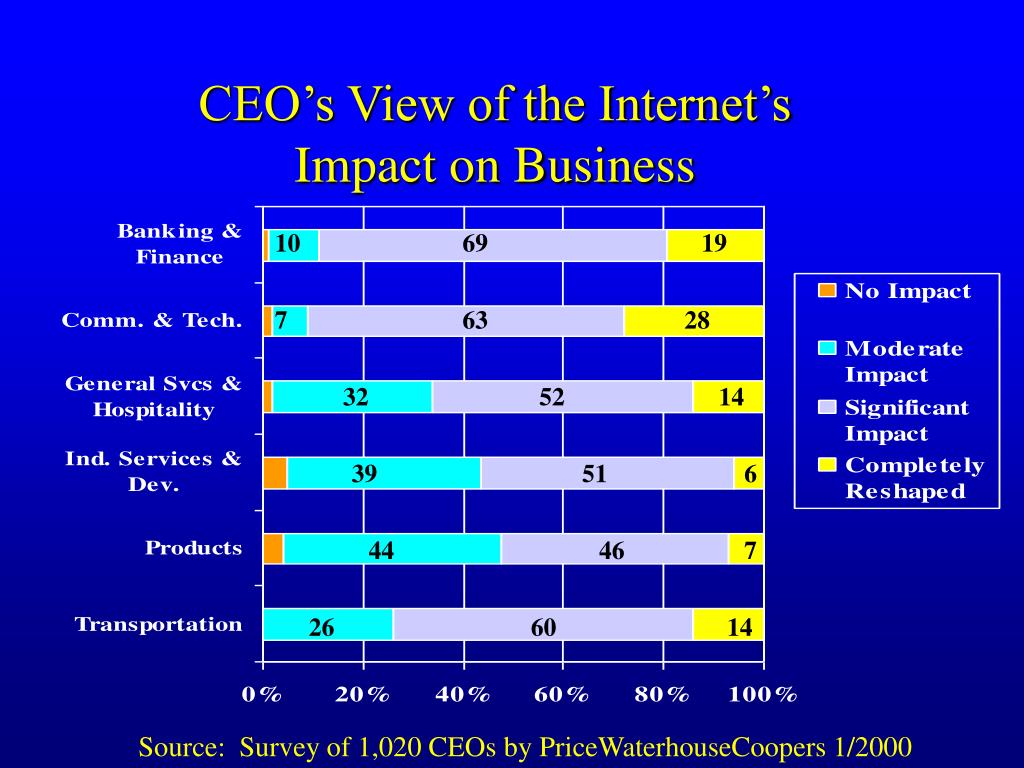 CEO's View of the Internet's Impact on Business