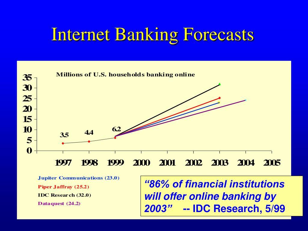 Internet Banking Forecasts