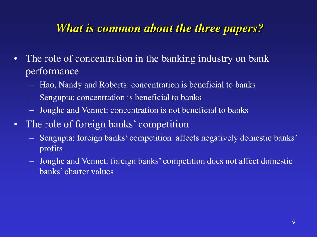 What is common about the three papers?