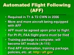 automated flight following aff