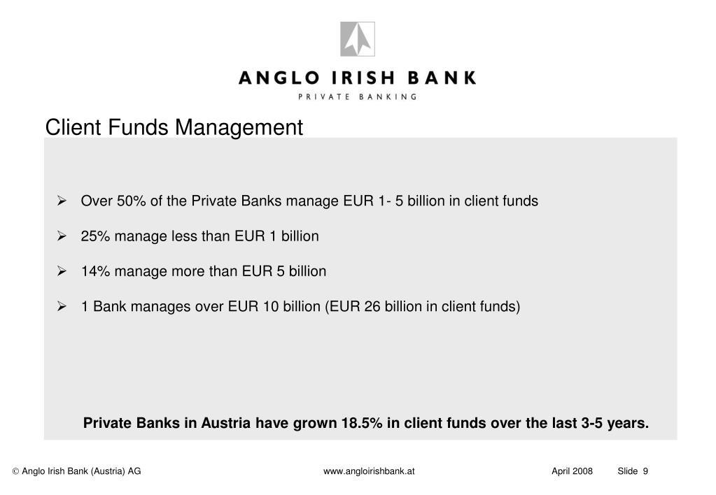 Client Funds Management