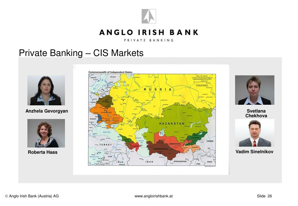 Private Banking – CIS Markets