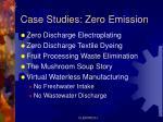 case studies zero emission