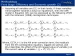 methodology third stage efficiency and economic growth 2