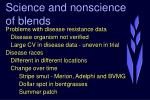 science and nonscience of blends22