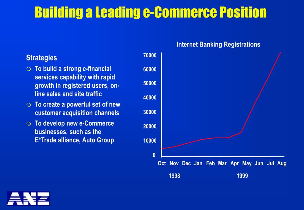 Building a Leading e-Commerce Position