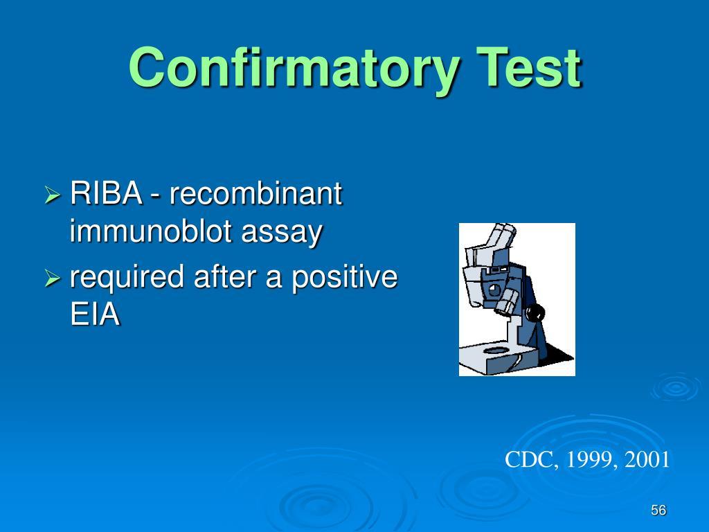 Confirmatory Test