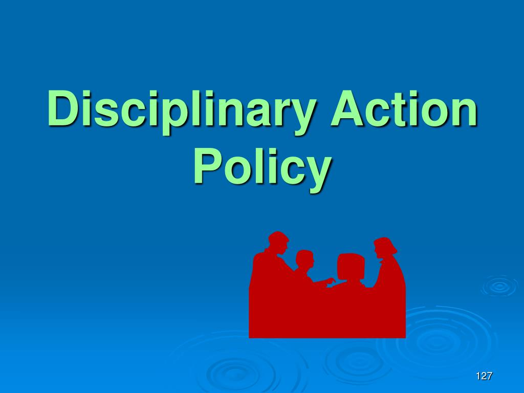 Disciplinary Action Policy