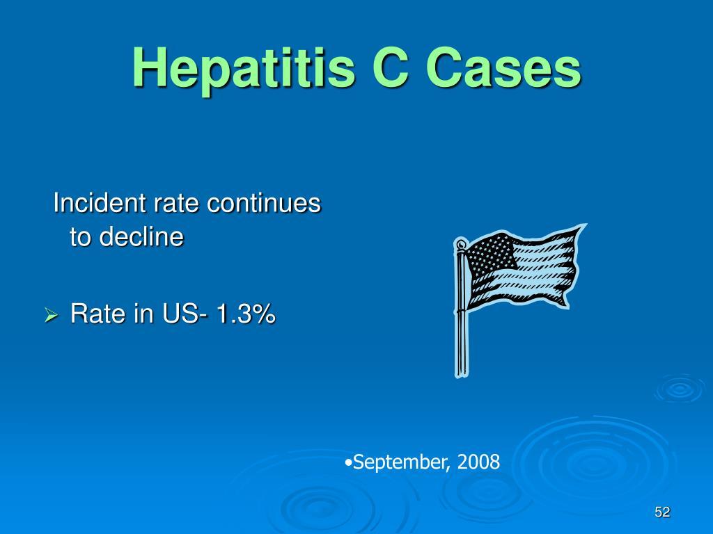 Hepatitis C Cases