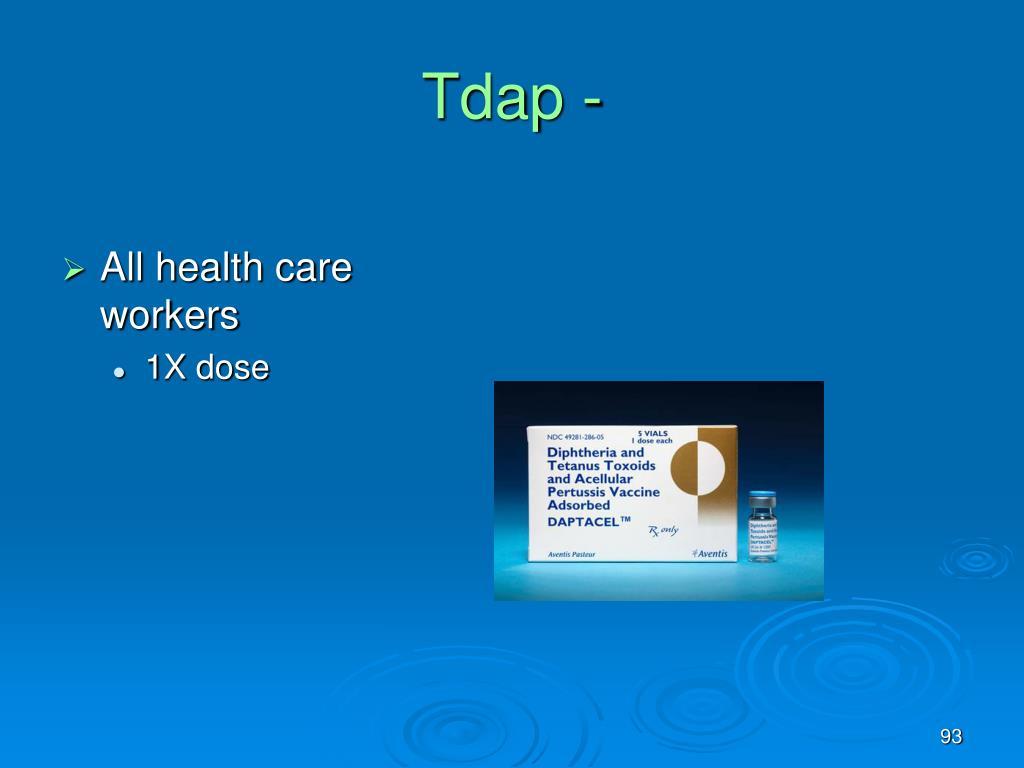 Tdap -