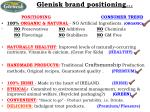 glenisk brand positioning