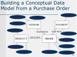 building a conceptual data model from a purchase order