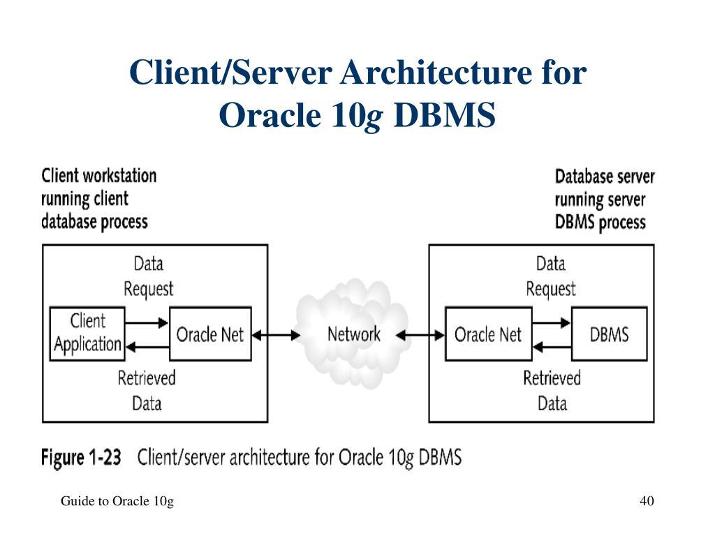 Client/Server Architecture for